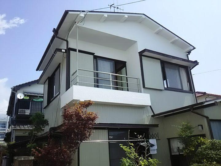 高知県 f様邸 外壁屋根塗装工事