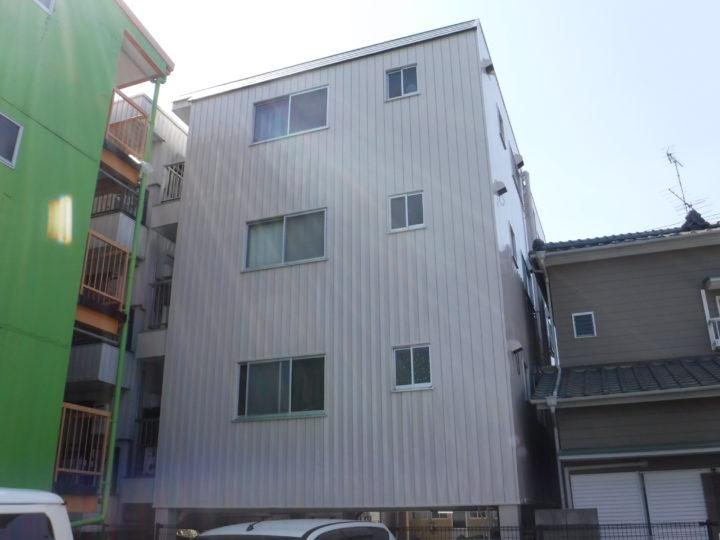 高知市竹島町 hアパート様 外壁塗装工事