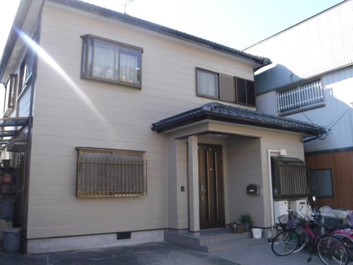 高知市福井町 h様邸 外壁塗装工事