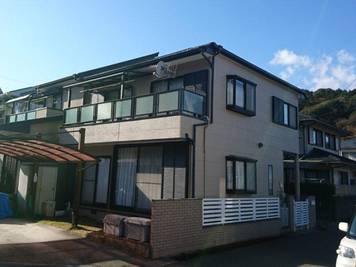 高知市神田 m様邸 外壁塗装工事