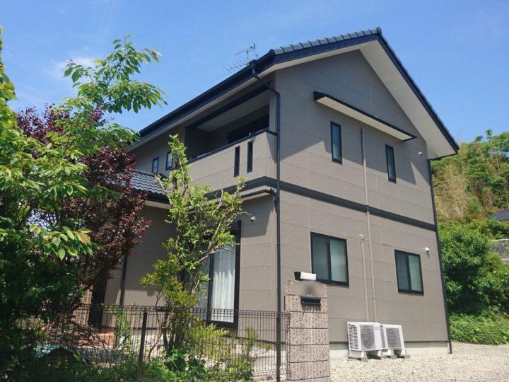高知市大津 k様邸 外壁屋根塗装工事