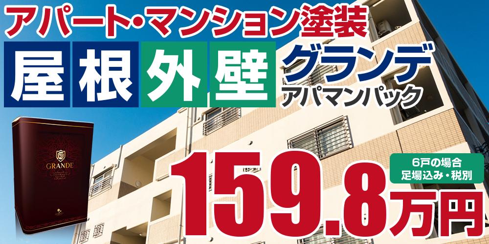 グランデアパマンパック塗装 159.8万円
