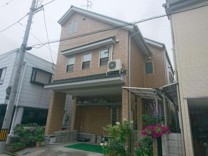 高知市潮新町 s様邸 外壁屋根塗装工事