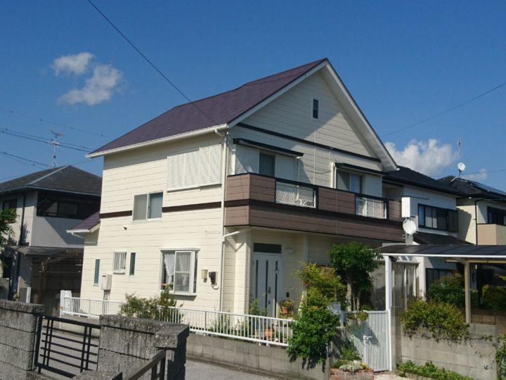 香南市 k様邸 屋根外壁塗装工事