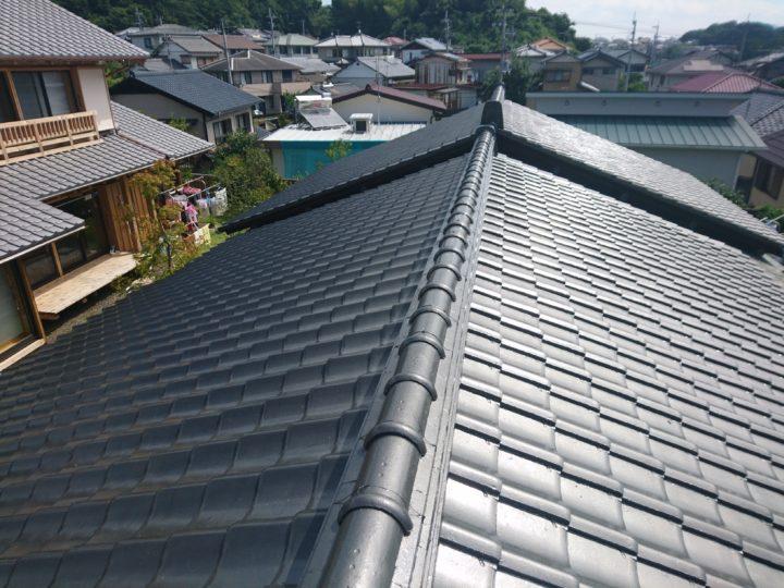 高知市瀬戸 i様邸 屋根塗装工事