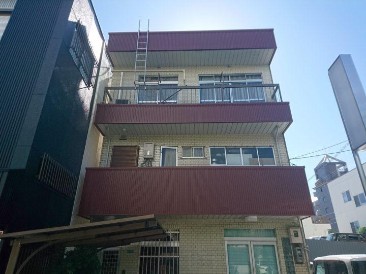 高知市九反田 k様邸 ベランダ改修工事