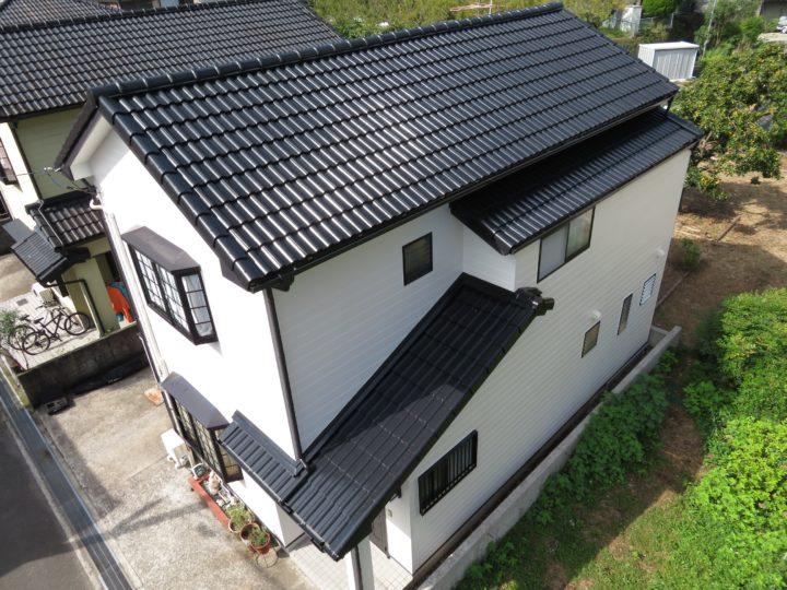高知市福井町 k様邸 屋根外壁塗装工事