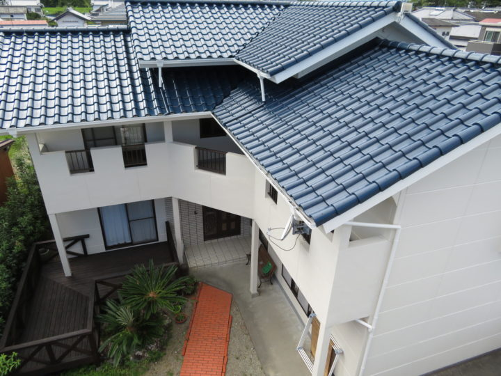 高知県 t様邸 屋根外壁塗装工事