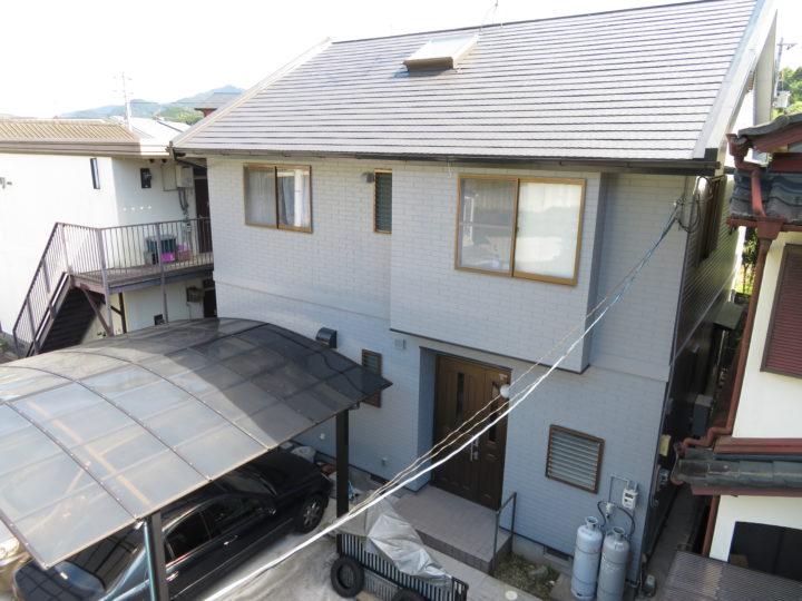 高知市朝倉 y様邸 屋根外壁塗装工事