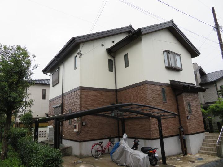 高知市みづき k様邸 外壁屋根塗装工事