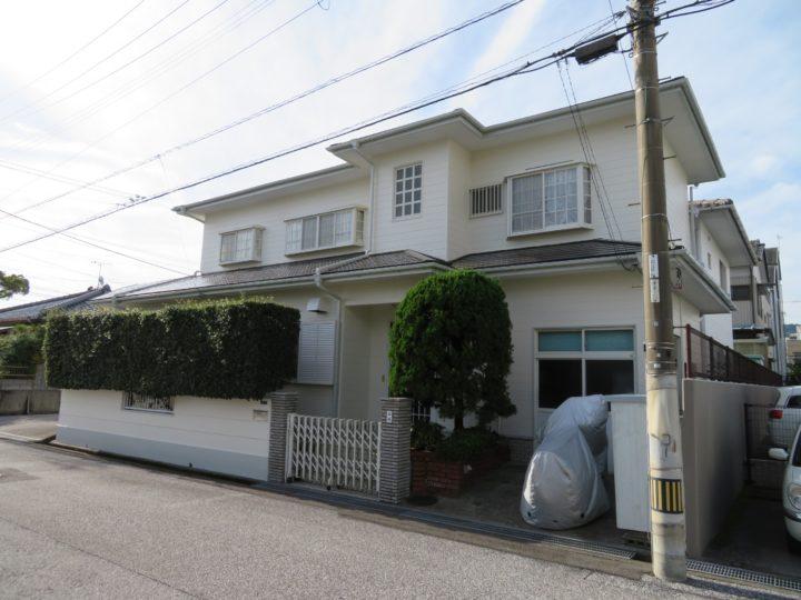高知市新田町 y様邸 外壁屋根塗装工事