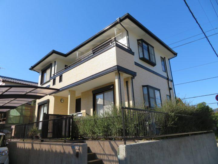 高知市春野町 h様邸 外壁屋根塗装工事