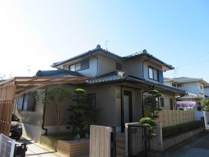高知市横浜 y様邸 外壁屋根塗装工事