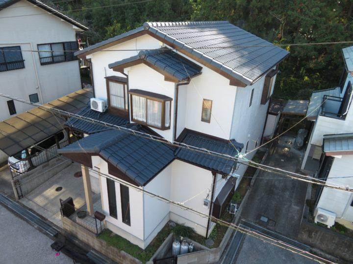 高知市朝倉 t様邸 外壁屋根塗装工事