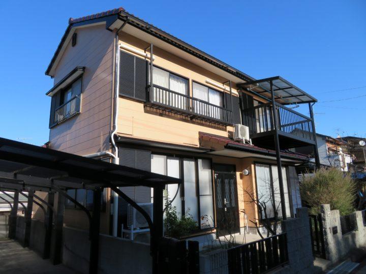 高知市朝倉 m様邸 外壁屋根塗装工事