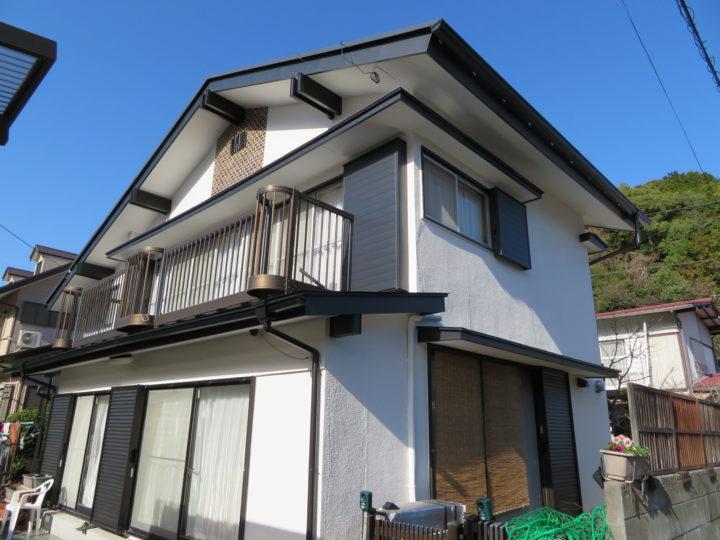 高知市横浜 m様邸 屋根外壁塗装工事