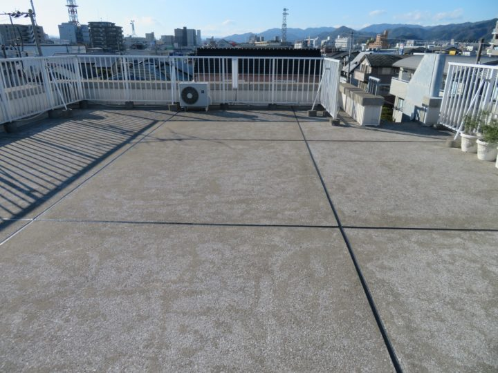 高知市北金田 k様邸 屋上防水シーリング工事