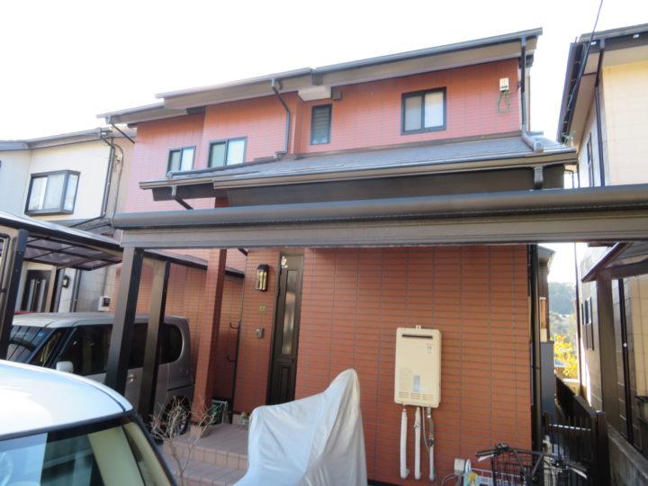 高知市福井町 s様邸 屋根外壁塗装工事
