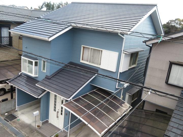 高知市横浜 y様邸 屋根外壁塗装工事