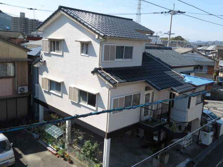 高知市神田 k様邸 屋根外壁塗装工事