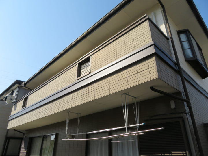 高知市横浜 n様邸 幕板板金工事
