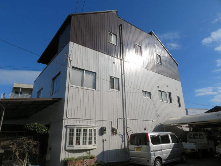 高知市高須 n様邸 屋根外壁塗装工事