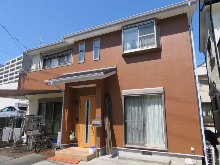 高知市針木 k様邸 外壁屋根塗装工事