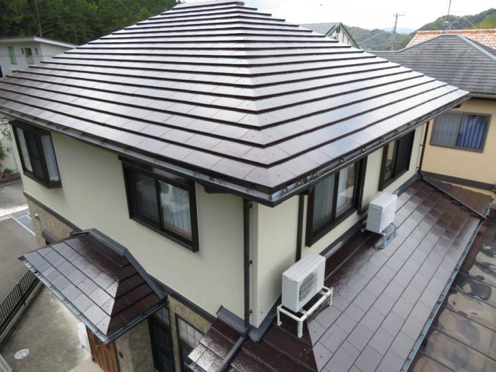 高知市池 y様邸 屋根塗装工事