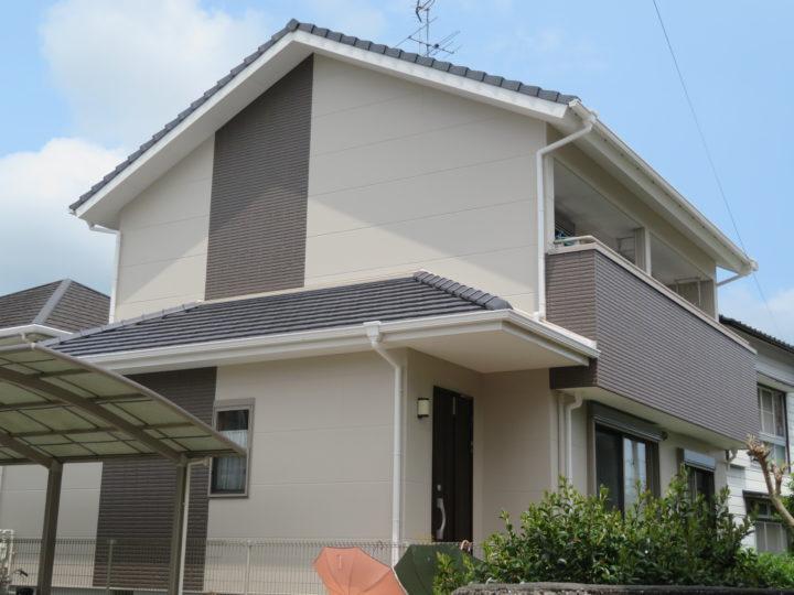 高知市福井町 a様邸 外壁塗装工事
