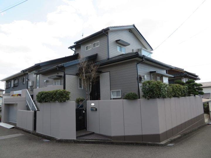 高知市横浜 m様邸 外壁屋根塗装工事