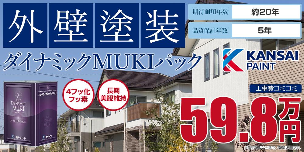 ダイナミックMUKIパック塗装 59.8万円