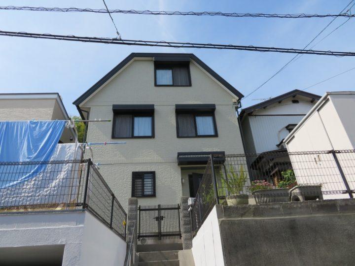 高知市神田 y様邸 屋根外壁塗装工事