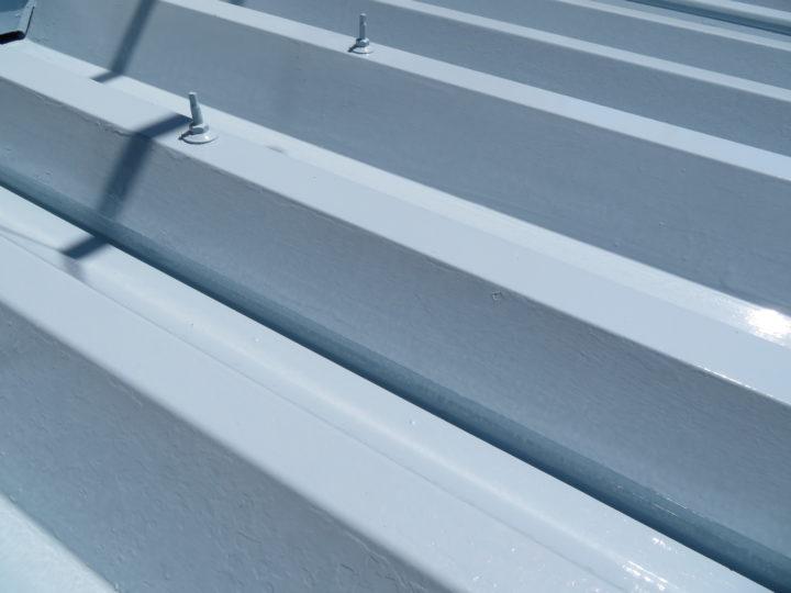 高知市春野町 h様邸 折半屋根塗装工事