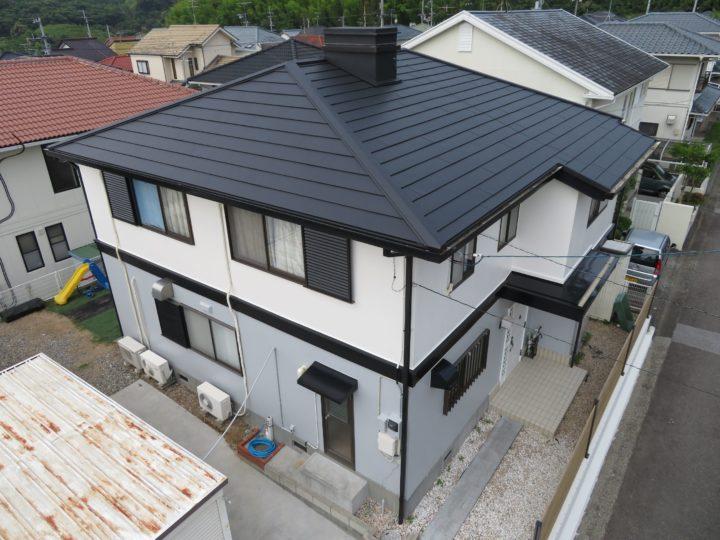 高知市横浜 y様邸 外壁塗装カバールーフ工事