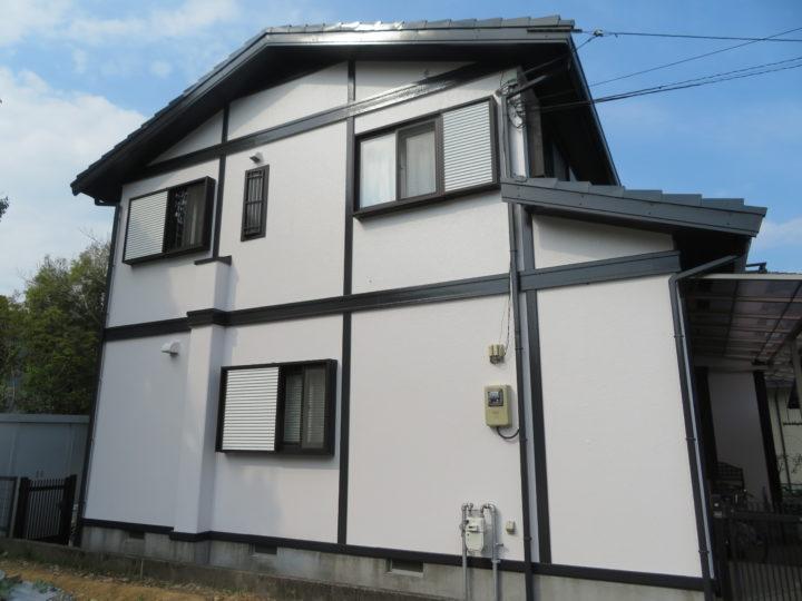 高知市みづき s様邸 屋根外壁塗装工事