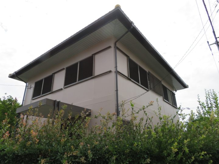 高知市瀬戸 f様邸 外壁塗装工事