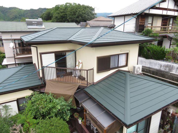 高知市福井町 y様邸 屋根瓦葺き替え工事