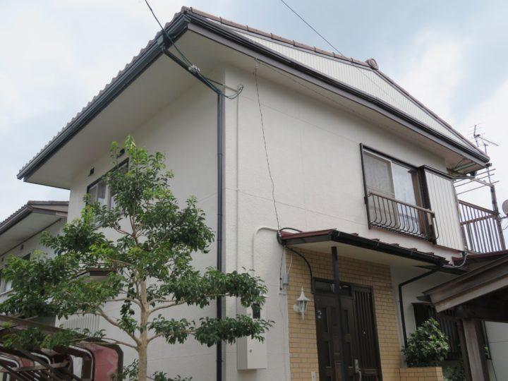 高知市福井町 n様邸 屋根外壁塗装工事