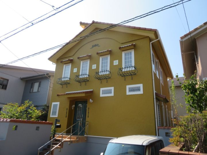 高知市池 k様邸 屋根外壁塗装工事
