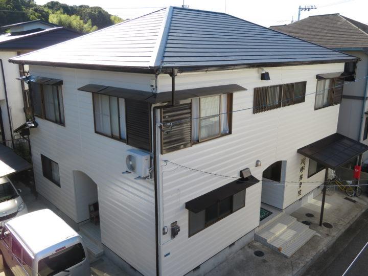 高知市福井町 k様邸 カバールーフ外壁塗装工事