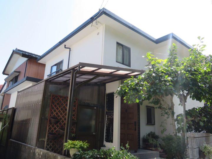 高知市朝倉 s様邸 屋根外壁塗装工事