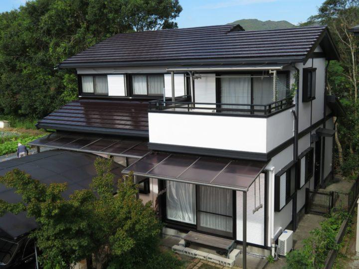 高知市みづき s様邸 外壁屋根塗装工事