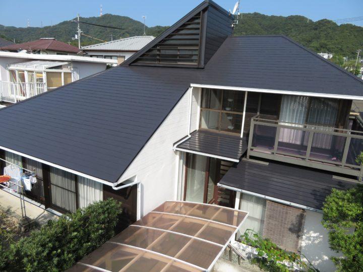 高知市横浜 m様邸 屋根塗装工事