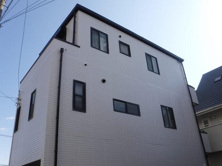 高知市塩田町 k様邸 外壁塗装工事