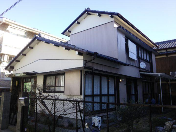 高知市宝町 k様邸 外壁塗装工事