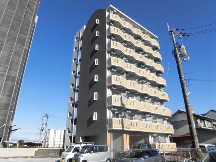 高知市新田町 sマンション様 外壁塗装工事