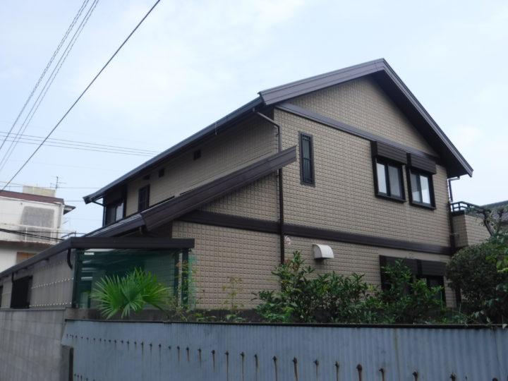 高知市宝永町 t様邸 屋根塗装 外壁塗装工事