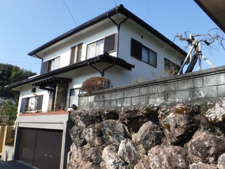 高知市横浜 t様邸 外壁塗装工事