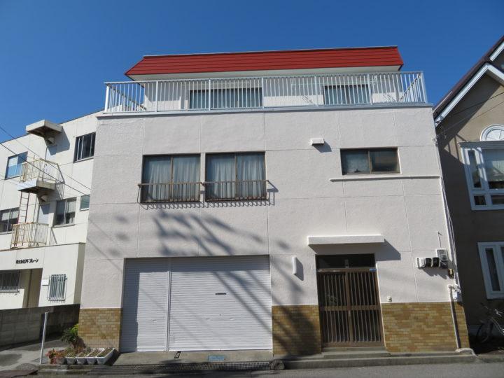 高知市菜園場 y様邸 屋根塗装 外壁塗装工事