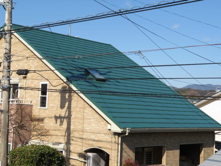 高知市朝倉 h様邸 屋根塗装工事